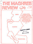 Download The Maghreb Review Book
