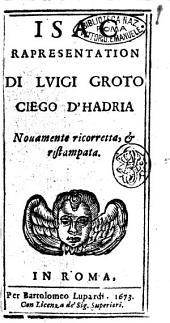Isac rapresentation di Luigi Groto ciego d'Hadria