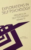 Progress in Self Psychology  V  19 PDF