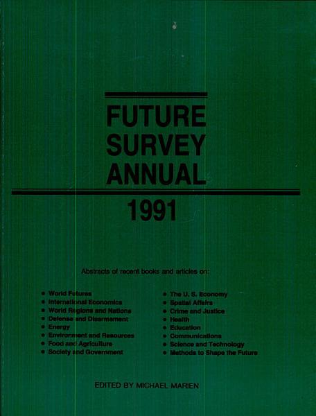 Future Survey Annual 1991 PDF