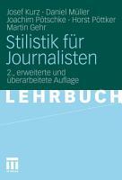 Stilistik f  r Journalisten PDF