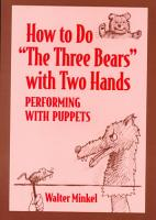 How to Do The Three Bears with Two Hands PDF