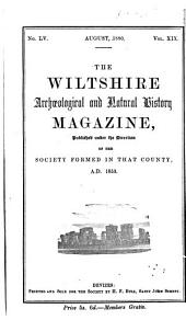 The Wiltshire Archaeological and Natural History Magazine: Volumes 19-20