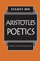 Essays on Aristotle s Poetics PDF