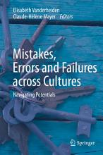 Mistakes  Errors and Failures across Cultures PDF