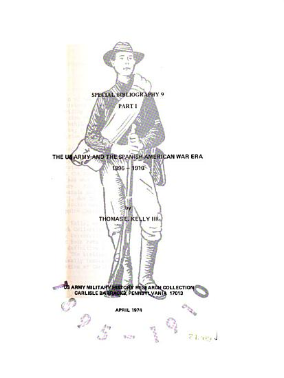 Special Bibliography   US Army Military History Research Collection PDF