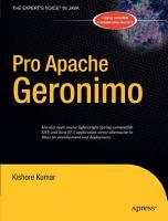 Pro Apache Geronimo PDF