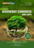Proceedings of 5th World Bioenergy Congress and Expo 2017 PDF