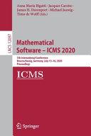 Mathematical Software – ICMS 2020