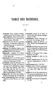 Le bibliophile belge: Volume1