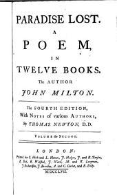 Paradise Lost: A Poem, in Twelve Books, Volume 2