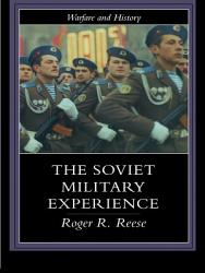 The Soviet Military Experience PDF