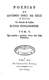 Poesias de Antonio Diniz da Cruz e Silva