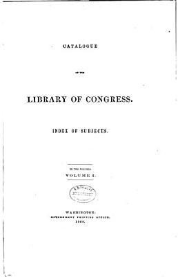 Catalogue of the Library of Congress  Aargau to Lichfield PDF