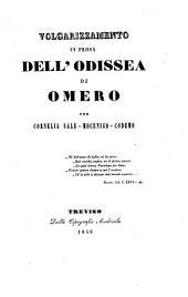 Volgarizzamento in prosa dell'Odissea di Omero per Cornelia Sale-Moceigo-Codemo