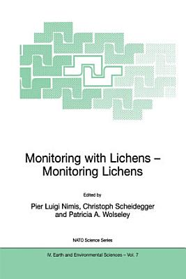 Monitoring with Lichens   Monitoring Lichens PDF