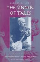 The Singer of Tales PDF