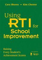 Using RTI for School Improvement PDF