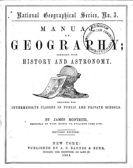 Manual of Geography PDF