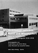 Architektur zwischen Kunst und Wissenschaft PDF