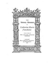 The Literary Remains of Catherine Maria Fanshawe