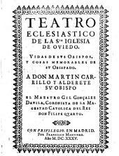 Teatro eclesiástico de la Sta. Iglesia de Oviedo