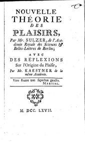 Théorie des plaisirs