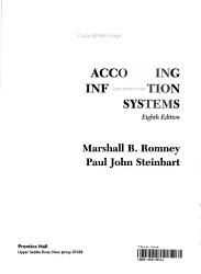 Accounting Info Systems Book PDF