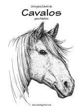 Livro para Colorir de Cavalos para Adultos 1