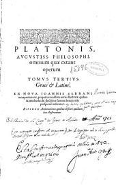 Platonos Apanta ta sozomena: Volume 3