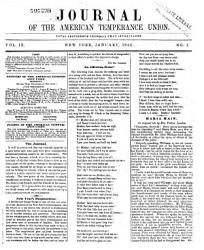 Journal of the American Temperance Union PDF