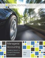 Ebook  Managerial Accounting   Global Edition PDF