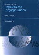 An Introduction to Linguistics and Language Studies