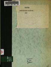 Constitución política de la República de Bolivia
