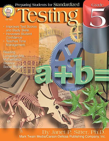 Preparing Students for Standardized Testing  Grade 5 PDF