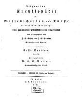 Allgemeine Encyclopädie der Wissenschaften und Künste in alphabetischer Folge: Erster Section: A-G, Band 59