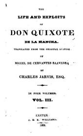 The Life and Exploits of Don Quixote de la Mancha: Volume 3
