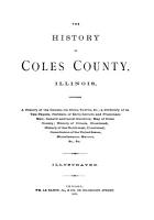 The History of Coles County  Illinois PDF