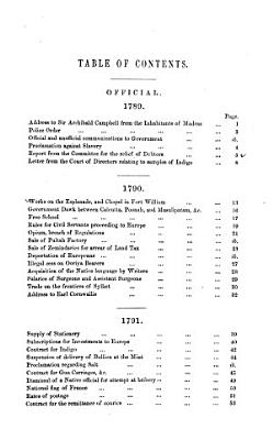 Selections from Calcutta Gazettes of the Years 1784   1823 Inclusive  Showing the Political   Social Condition of the English in India     PDF