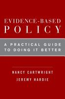 Evidence Based Policy PDF