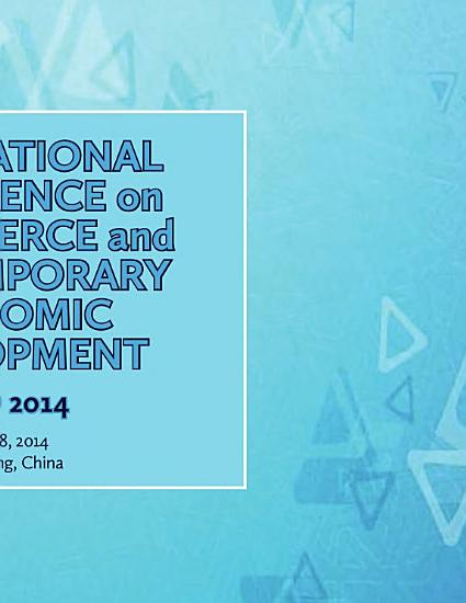 International Conference on E Commerce and Contemporary Economic Development PDF