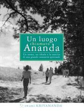 Un luogo chiamato Ananda