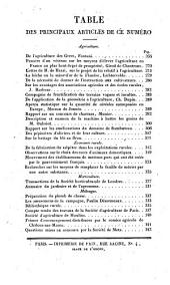 Bulletin des sciences agricoles et économiques