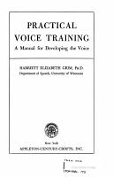 PRACTICAL VOICE TRAINING PDF