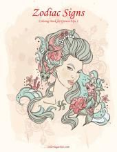 Zodiac Signs Coloring Book for Grown-Ups 1