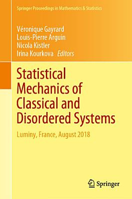 Statistical Mechanics of Classical and Disordered Systems PDF