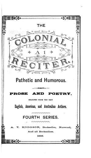The Colonial Al Reciter