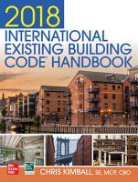 2018 International Existing Building Code Handbook PDF