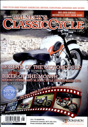 WALNECK S CLASSIC CYCLE TRADER  AUGUST 2008 PDF