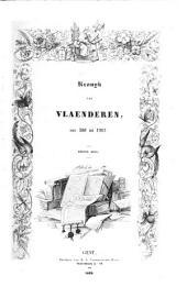 Kronijk van Vlaenderen van 580 tot 1467 (uitg. door C. P. Serrureen Ph. Blommaert